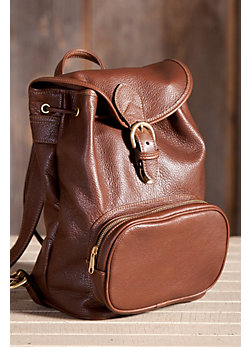 Vagabond American Cowhide Leather Backpack