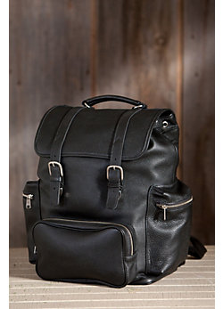Peyton Oversized Travel Leather Backpack