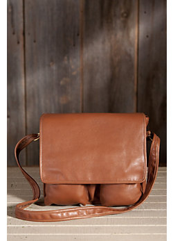 Rupert American Cowhide Leather Messenger Bag