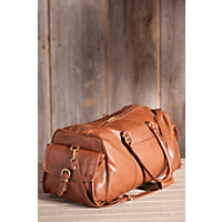 Sojourner American Cowhide Leather Duffel Bag Western & Country