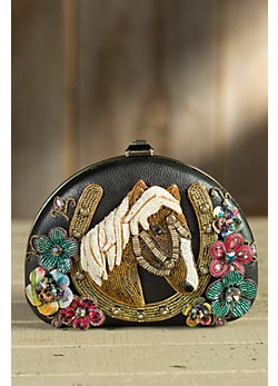 Giddy Up Mary Frances Designer Handbag