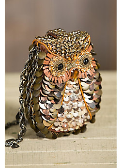 What A Hoot Mary Frances Designer Handbag