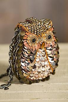 What A Hoot Mary Frances Designer Handbag