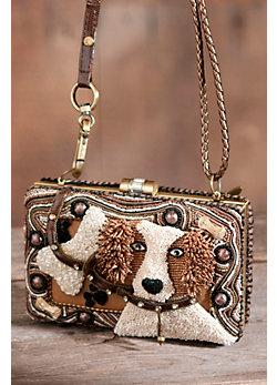 Fetch Mary Frances Designer Handbag