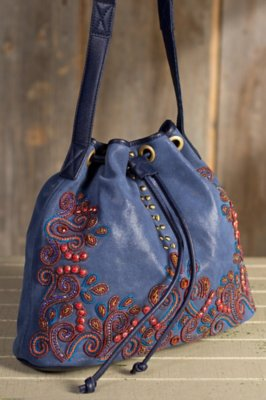 Arabian Nights Mary Frances Designer Handbag