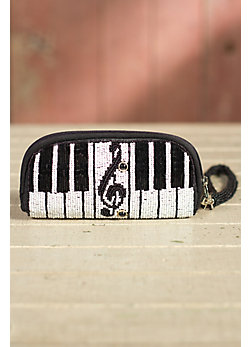 Keyed Up Mary Frances Designer Wristlet Wallet