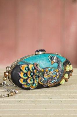 Pretty Bird Mary Frances Designer Clutch Handbag