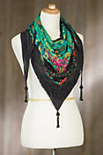 Mary Frances Fireworks Lotus Scarf