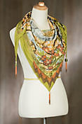 Mary Frances Misty Lotus Scarf
