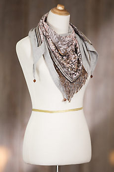 Mary Frances Flutter Lotus Scarf