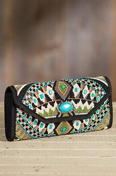 Tahoe Mary Frances Designer Clutch Handbag