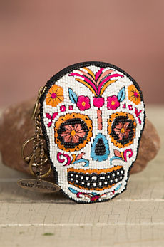 Bone to Pick Mary Frances Designer Keychain Coin Pouch