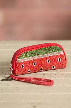 Slice of Life Mary Frances Designer Wristlet Wallet