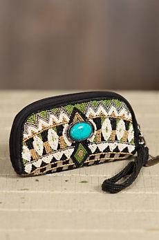 Tahoe Mary Frances Designer Wristlet Wallet