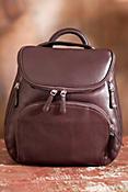 Women's Creel Leather Backpack Handbag