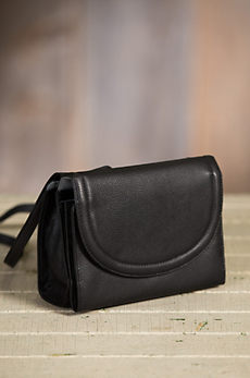 Urbanizer Multi-Pocket Leather Crossbody Handbag Wallet