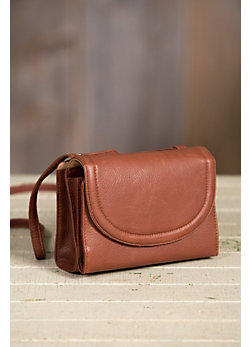 Women's Multi-pocket Urbanizer Leather Handbag