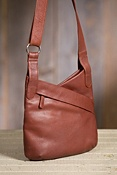 Women's Jessica Kriss Kross Leather Handbag