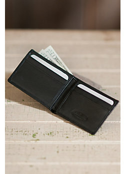 Ultra Mini Thinfold Leather Wallet