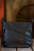 Women's Sherlee Cashmere Leather Bucket Handbag