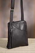 Women's Makenzie Cashmere Leather Messenger
