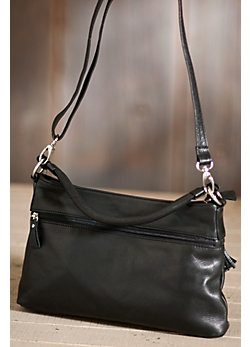 Women's Carley Convertible Leather Handbag