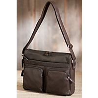 Trader Argentinian Leather Messenger Bag, Mocha Western & Country