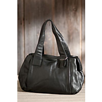 Women's Rachel Argentinian Leather Tote Bag, Black Western & Country