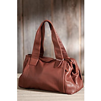 Women's Rachel Argentinian Leather Tote Bag, Brandy Western & Country