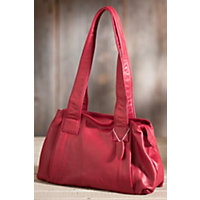Women's Ava Argentinian Leather Handbag, Garnet Western & Country