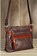 Women's Lucy Leather Crossbody Handbag