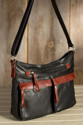 Isabella Leather Crossbody Handbag