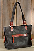 Molly Leather Tote Bag