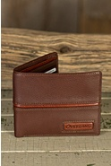 Signature Leather Wallet with Removable ID Case