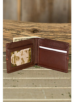 Signature Mini Leather Wallet