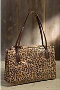 Hobo Friar Patterned Leather Handbag