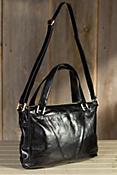 Women's Hobo Rhoda Convertible Leather Handbag