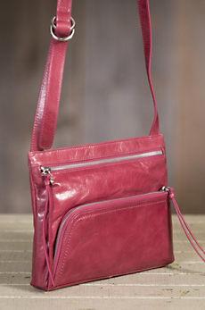 Hobo Cassie Leather Crossbody Handbag