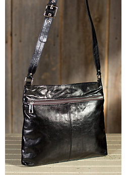 Women's Hobo Lorna Leather Crossbody Handbag