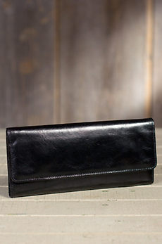 Hobo Sadie Leather Clutch Wallet
