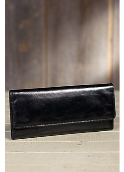 Hobo Sadie Leather Wallet
