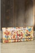 Women's Hobo Sadie Patterned Leather Wallet