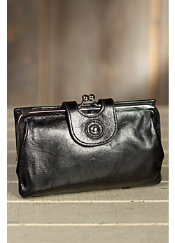 Hobo Alice Leather Clutch Wallet