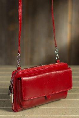 Hobo Abrielle Leather Crossbody Clutch Handbag