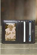 Hobo Euro Slide Leather Wallet