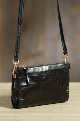 Hobo Angie Leather Handbag