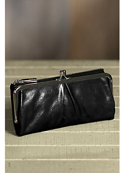 Hobo Vera Leather Clutch Wallet