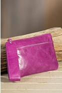 Hobo Carley Leather Wristlet Wallet
