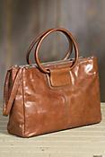 Hobo Salina Leather Handbag