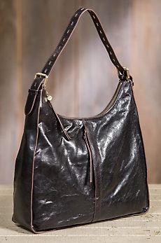 Hobo Marley Leather Handbag